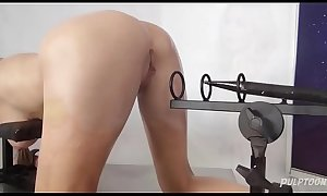 Bound In Space - Pussy Bondage Slave Part 2