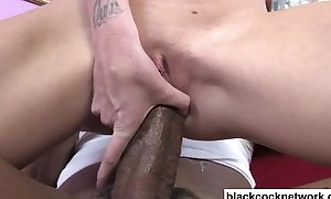Shane diesel stretches in a word blondes pussy