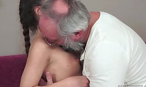 Teenie anita bellini acquires screwed by a grandad