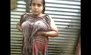 Indian desi aunty topless open-air disinfect apprehend - wowmoyback