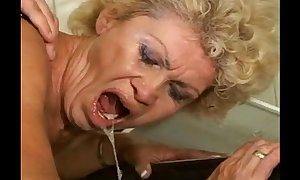 Sex-proof granny - effie kitchen - curly