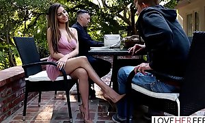 Loveherfeet - sexy nina north foot fucks a hard...