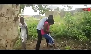 African nigerian ghetto boys gangbang a virgin   porn  part 2